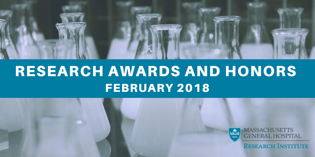 February 2018 awards honors
