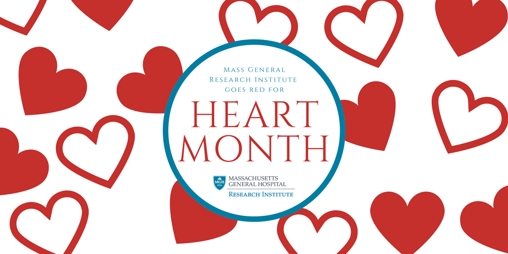 Mass General Research Institute goes red for heart month
