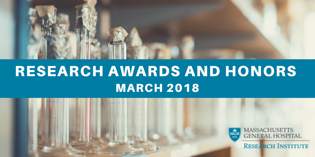 March 2018 awards honors