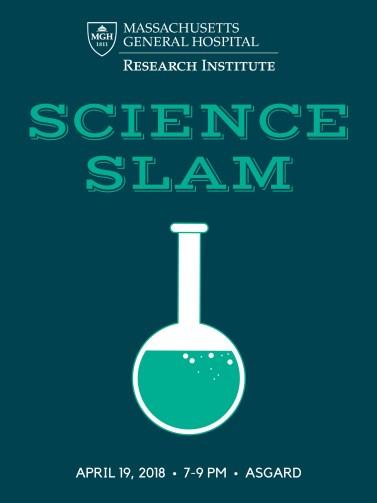 SCIENCE SLAM poster