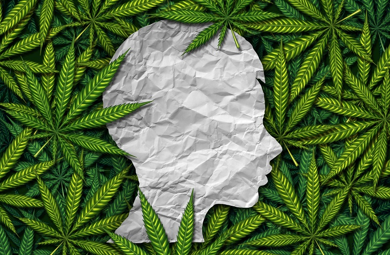 graphic image depicting the impact of cannabis on pediatric patient visits