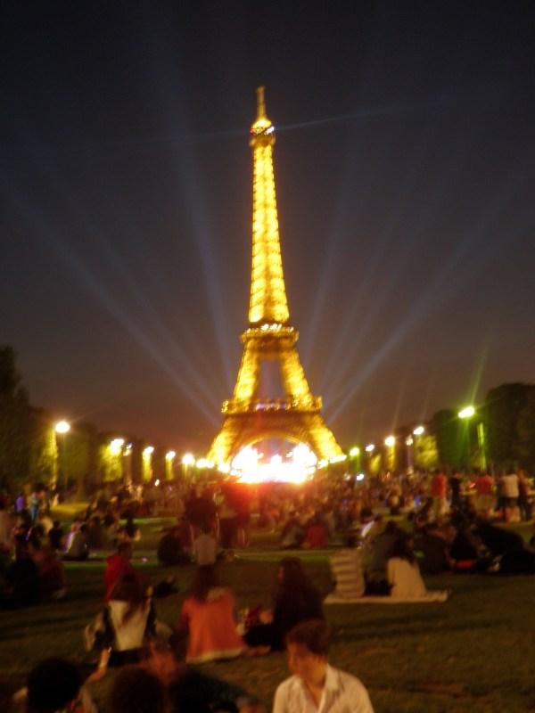Bastille Day In Paris Michelle' Peace Tour