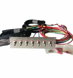 led toggle switch panel [ 1000 x 1000 Pixel ]