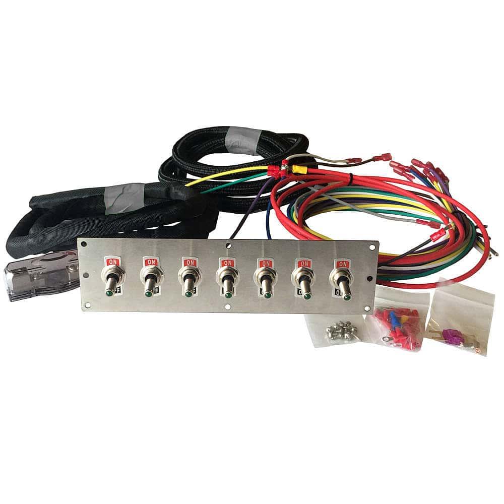 medium resolution of led toggle switch panel