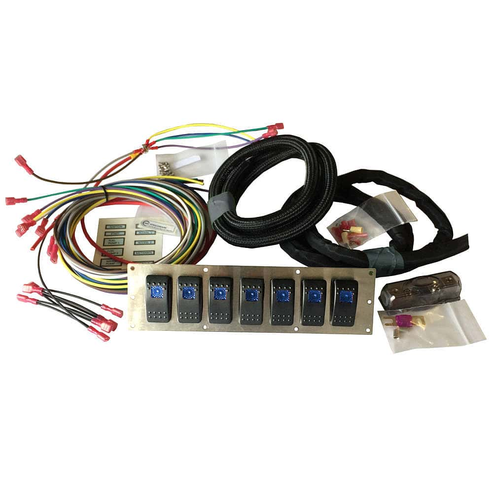 hight resolution of marine rocker or race car switch panel kit
