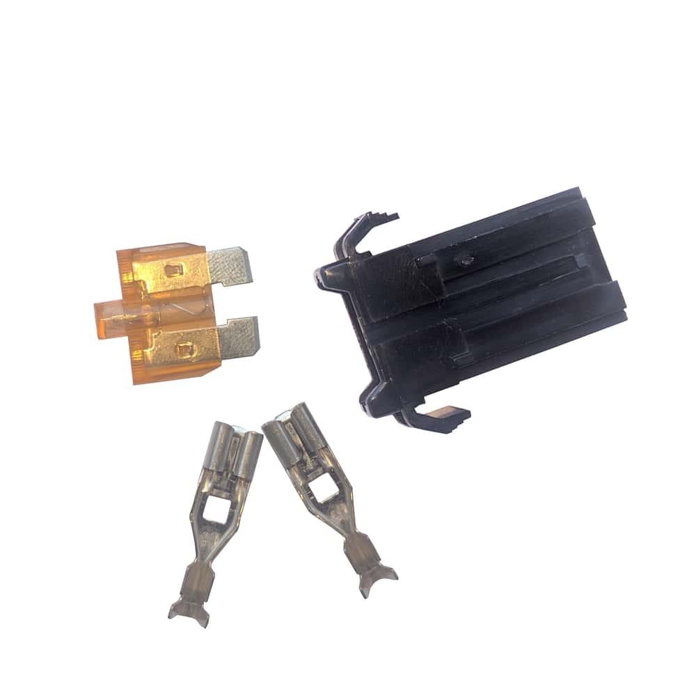 medium resolution of 32v automotive blade fuse holder with smart glow fuse