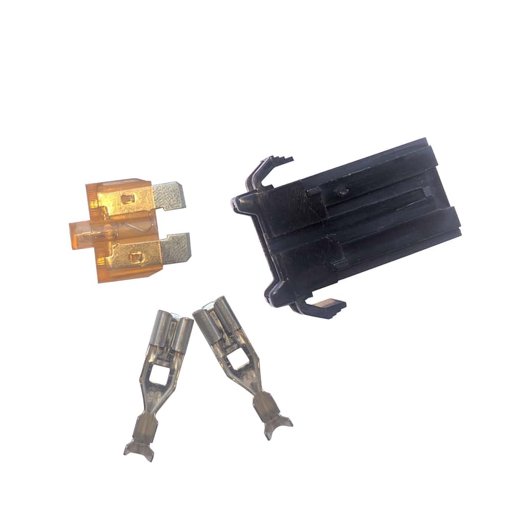hight resolution of 32v automotive blade fuse holder with smart glow fuse