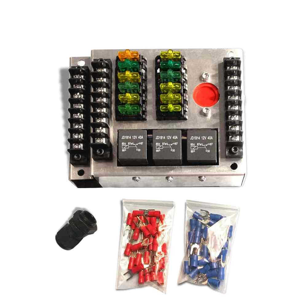 medium resolution of racing fuse box with relay circuits