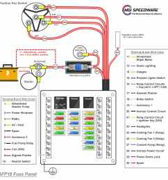 universal car replacement fuse box with 18 fuses mgi [ 1600 x 1600 Pixel ]