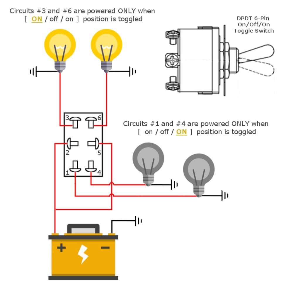 medium resolution of toggle switch wiring dpdt toggle switch circuit more wiring diagram go 6 pin toggle switch dpdt