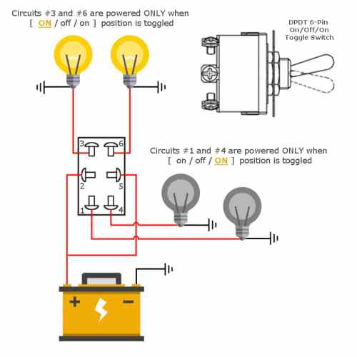 small resolution of prong toggle switch wiring diagram wiring diagram centre 6 pin toggle switch dpdt on off
