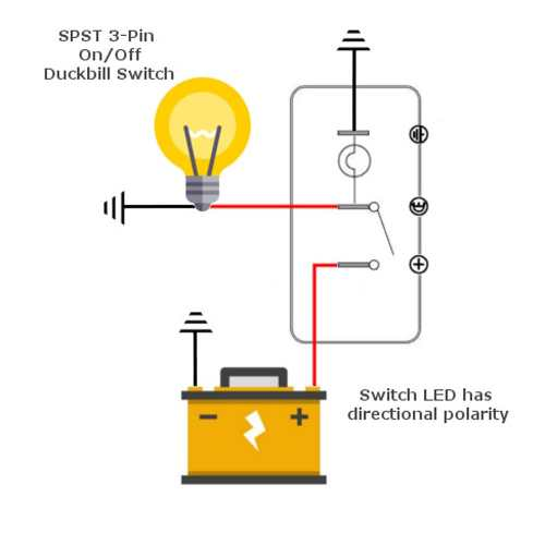 small resolution of spst switch wiring diagram