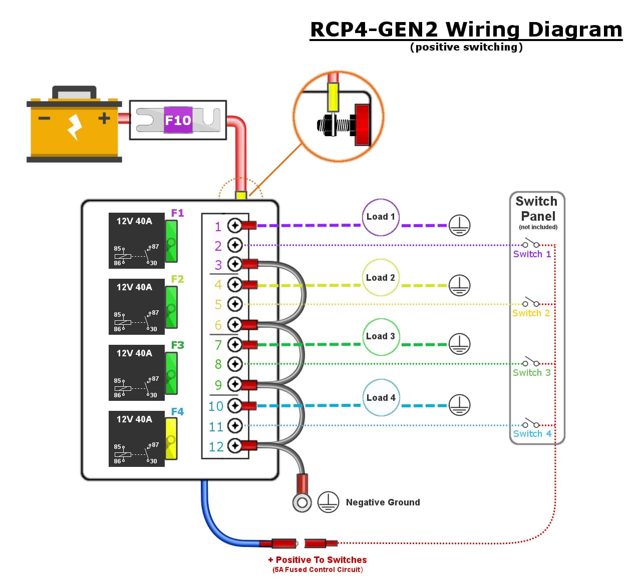 hight resolution of 6 relay module