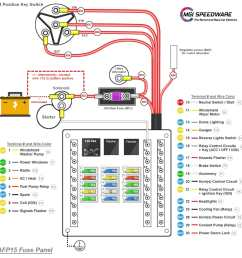 12 volt universal fuse box with 15 fuses mgi speedware fuse wire harness diagram 18 [ 1600 x 1600 Pixel ]