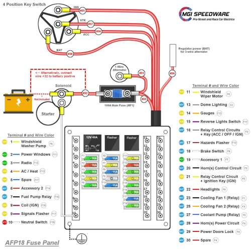 small resolution of afp18installation manual afp18wiring diagram afp18electrical scheme