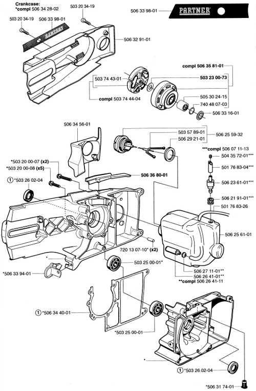M.G. Judd Ltd Partner K650 / K700 Parts List