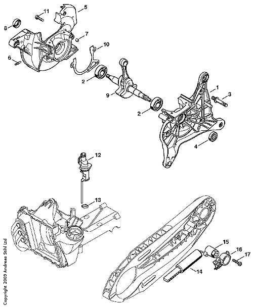 M.G. Judd Ltd Stihl TS410 Parts List