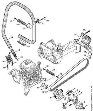 MG Judd Ltd Stihl TS410 Parts List