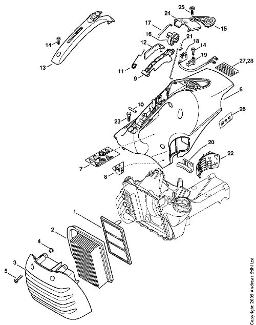stihl fs 85 trimmer parts diagram extension cord auf deutsch manual list chainsaw workshop