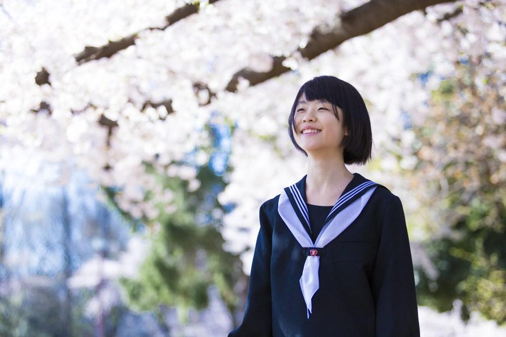 中学生 合格 桜