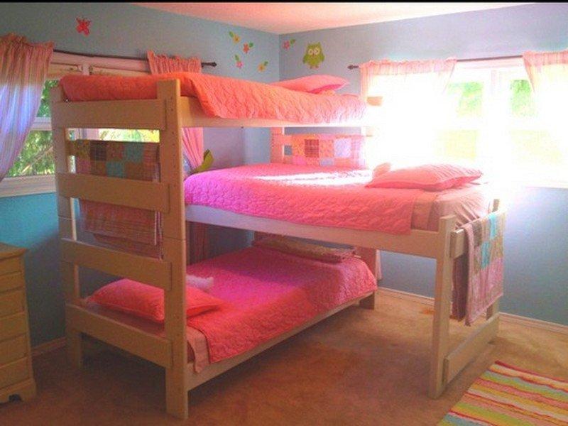 Triple Bunk Beds for Dormitory  putrilistyas blog
