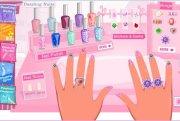 barbie dazzling nails - doraemon