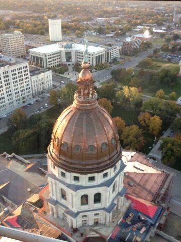 Kansas Statehouse Renovation Starts to Shine