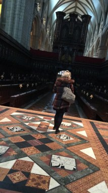 Madison Harding At Gloucester Cathedral