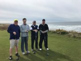 Jim Pringle- pro at Sunshine Coast Golf and Country Club, David Livingstone, Dennis Thompson on Bandon Dunes