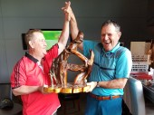 Spring Open Winners Brent Lineker and Adam Redfern