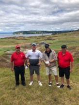 Faris, Jones, Constantinoff, Pannell at Chambers Bay