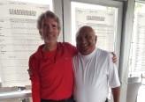2018 Club Champions Steve Rice-Jones and Sad Thiara