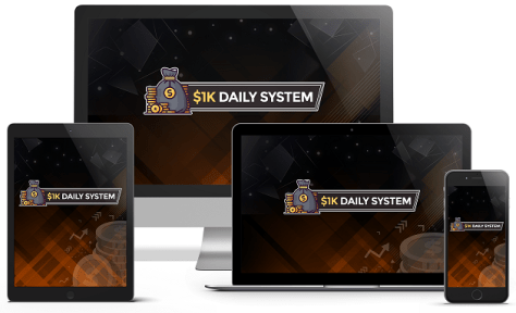 Learn how you can make 1K a day every day! Click Here!