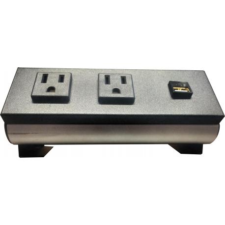 multicontacto para escritorio y mesas PSC055