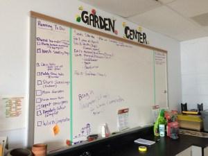 Quander Road School Garden Center.