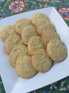 Lemon Fennel Cookies