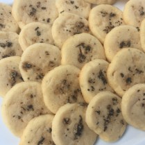 Sage Scented Shortbread cookies