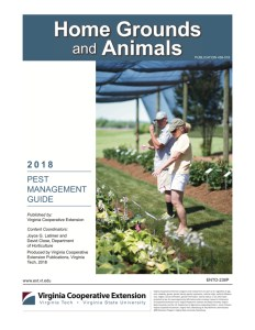 2018 Pest Management Guide: Home Grounds and Animals Cover