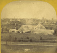 Construction of Palm House addition, 1867 (Photo: Architect of the Capitol)
