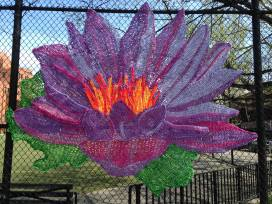 Iris, Naomi Lawrence, May 3, 2016 to April 3, 2017 Presented by Flux Art Fair in Partnership with the Marcus Garvey Park Alliance and NYC Parks