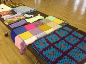 Knee Rugs and Knitted Items