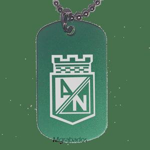 Placa Atlético Nacional