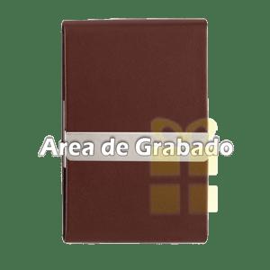 Tarjetero Cafe Grabado