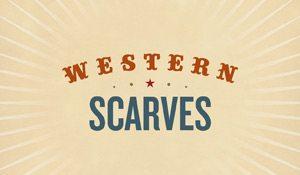 Western Scarves – book design