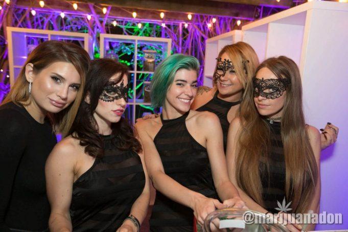 marijuana mansion party
