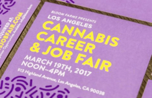 Bloom Farm, Cannabis Job Fair, Los Angeles