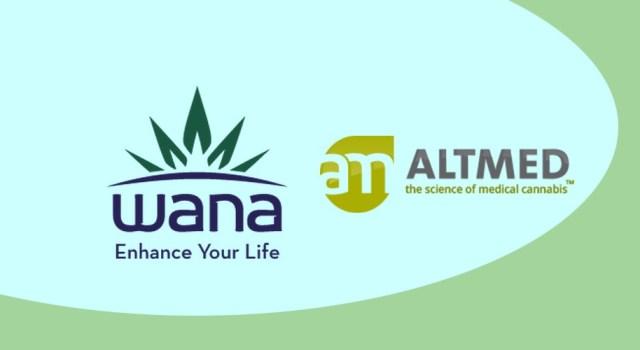 Wana Brands, AltMed, marijuana, news