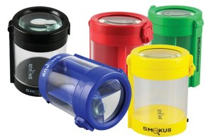 Smokus Focus Magniftying LED Container