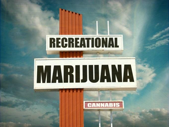 Los Angeles Marijuana Signs