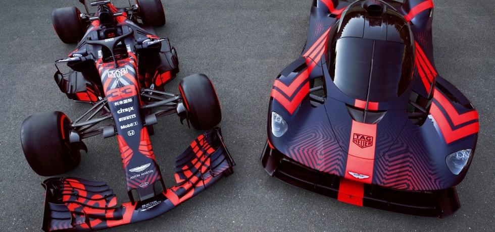 Aston Martin F1 Team with Valykrie